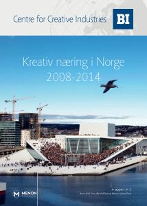Kreativ næring i Norge_innhold 1